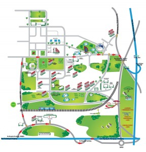 A UPM Serdang campus map, click for larger version